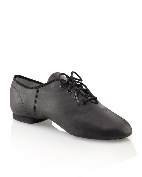 Economy Jazz Oxford Adult Black EJ1A by Capezio