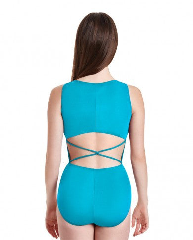 Capezio Fishtail Braid Leotard- Women TB232W