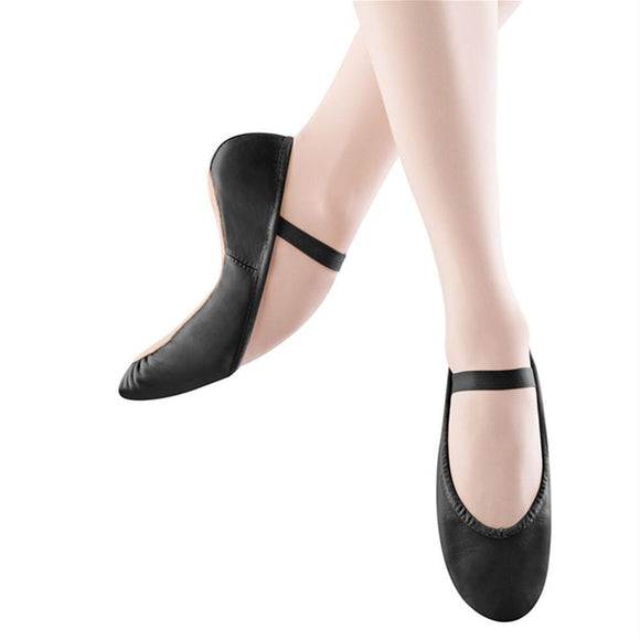 bloch dansoft ballet slippers S0205G black