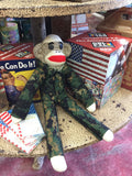Martin Schmidt Custom Sock Monkeys Army Camo