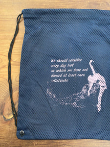 Pointe Shoe Mesh Bag: Nietzsche