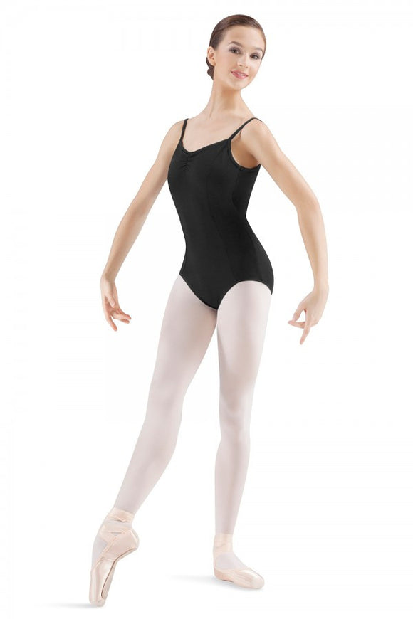 Pinch Seam Cami Leotard M210LD by Mirella