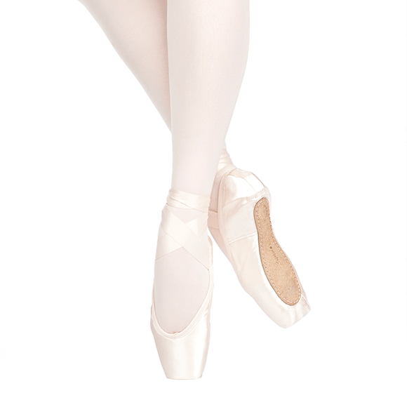 Russian Pointe Sapfir Pointe Shoe U-Cut (Drawstring)