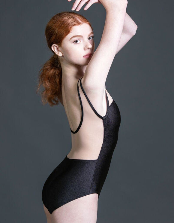 Radiance Illusion Neck Tank Adult Leotard by Suffolk Dance