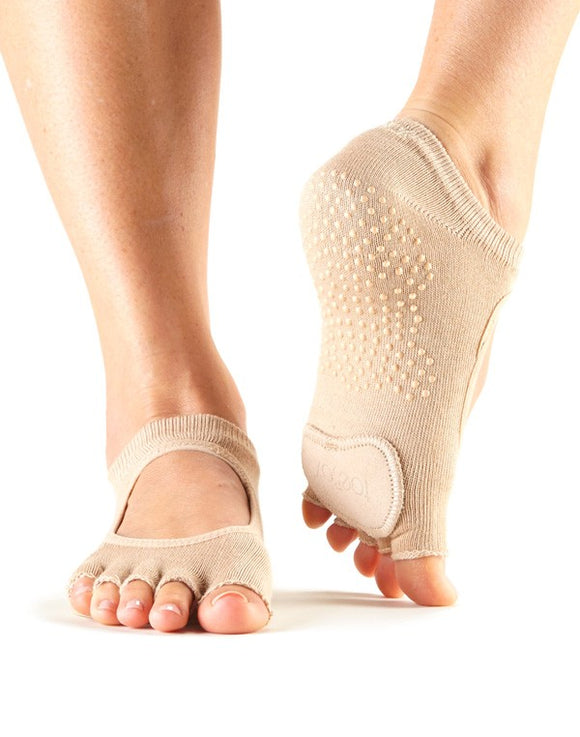 Half Toe Plie Grip Socks by ToeSox