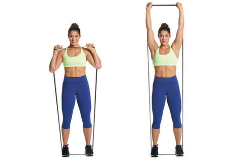 resistance band strength training