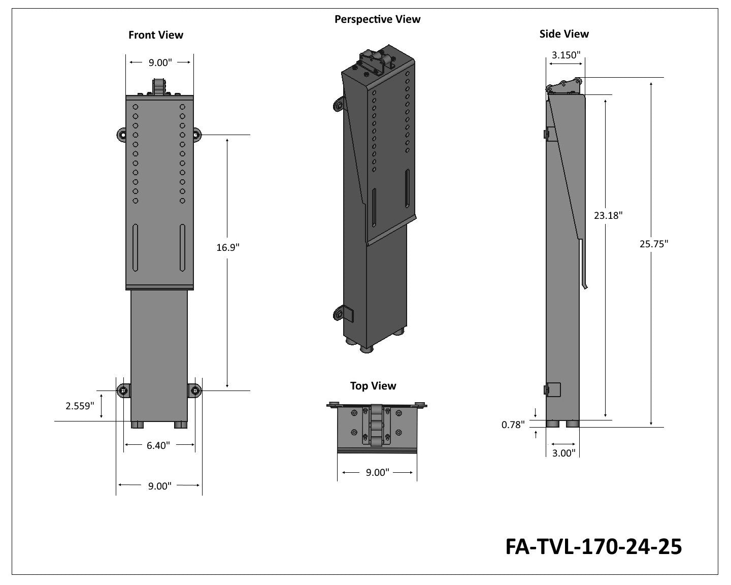 FA-TVL-170-24-25 Tech Drawing