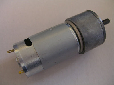 42MM Dia Gear DC Motor, 2-12vdc, 18:1 gear ratio