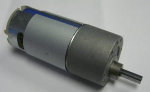 12vdc Electric gear Motor 16:1 Ratio 400RPM