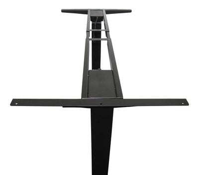 Firgelli E-Desk – Two Leg Sit Stand Desk Lift. No more back pain, work standing up