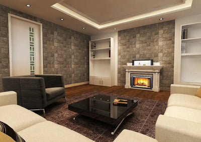 Over Fireplace Pop-Up TV Lift