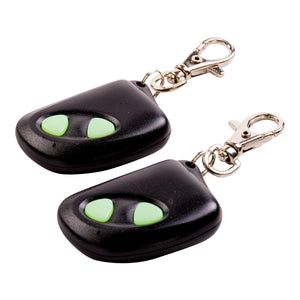 2 Button Remote Controls Compatible with our 4CH-RC System