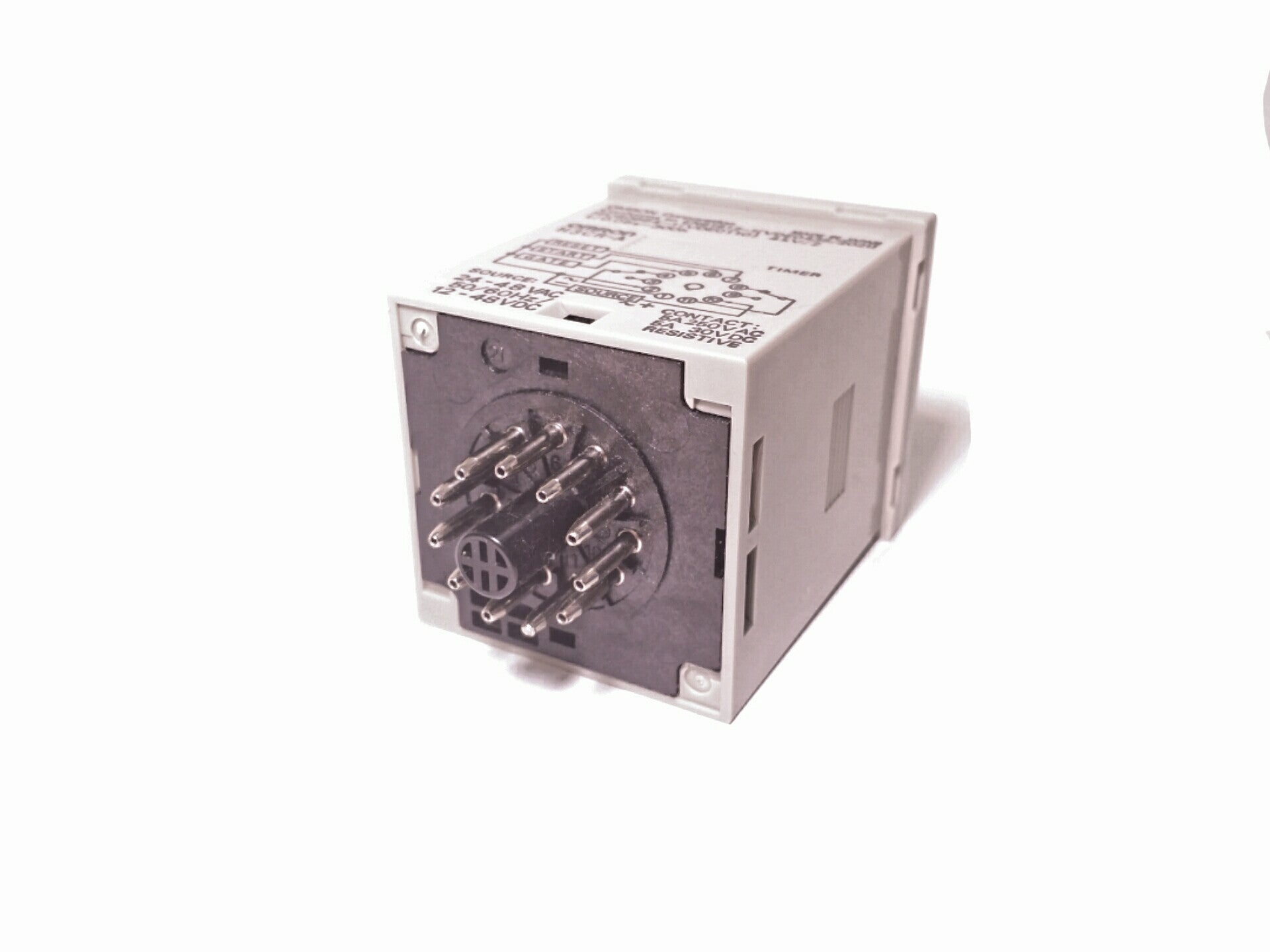 12 Volt Double Pole Throw Timer Relay Firgelli Automations 24 To