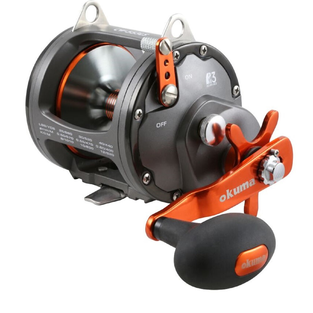 Okuma Coldwater High-Speed Reel Line Retrieve 40.7 RH