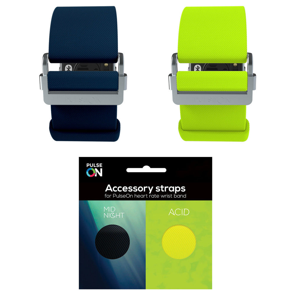 PulseOn Accessory Straps Size Small Acid/Midnight