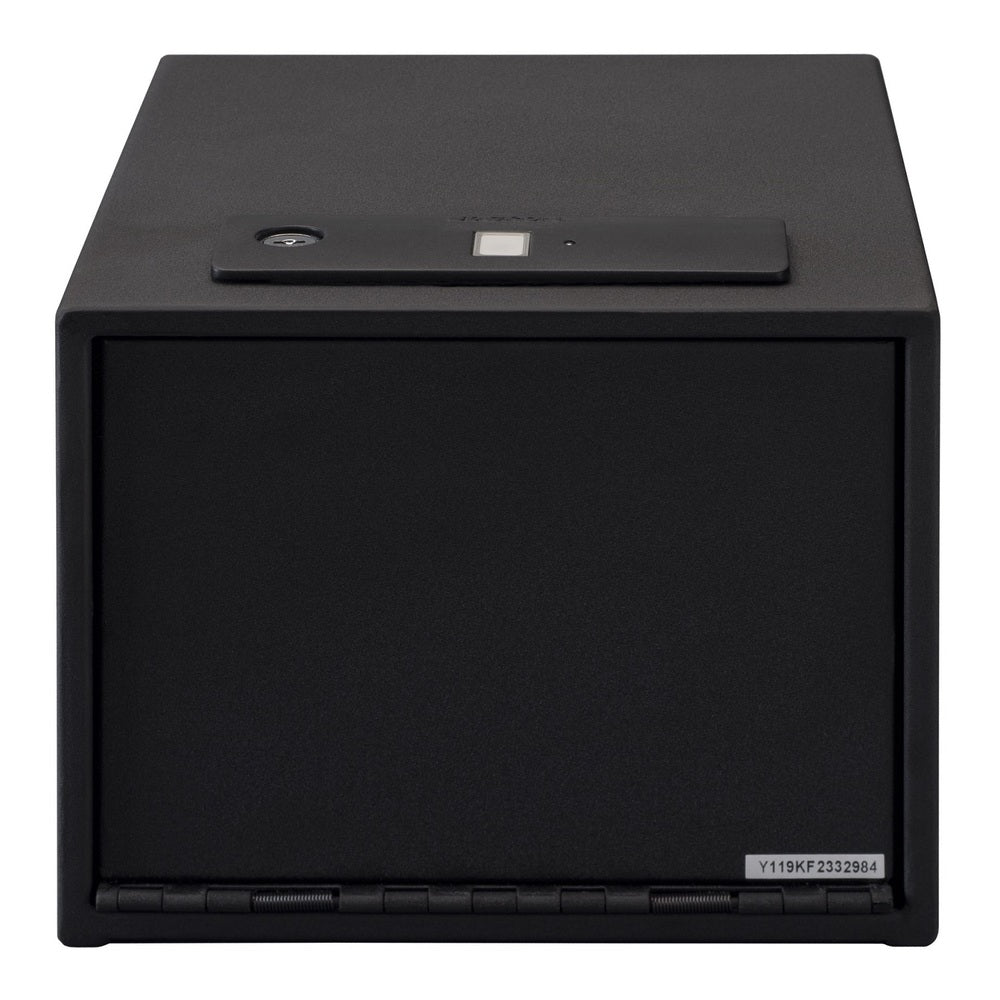 Stack-On Quick Access Safe with Shelf Biometric Lock