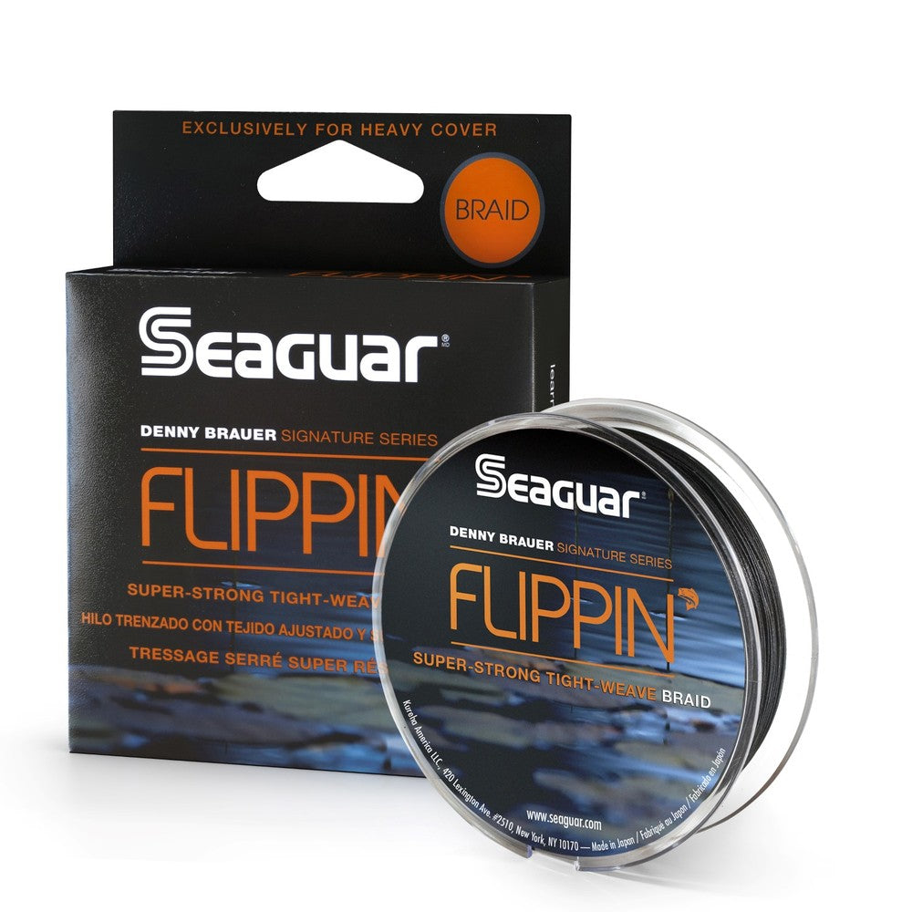 Seaguar Denny Brauer FlippiN Braid 50 Lb Test Fishing Line