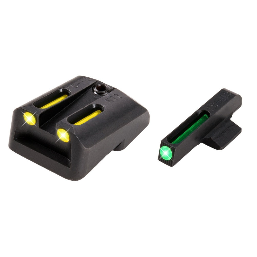 TruGlo TFO .260/.500 Set Handgun Sight-Yellow