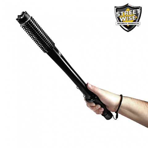 Cutting Edge Streetwise Barbarian 9 mil StunBaton Flashlight