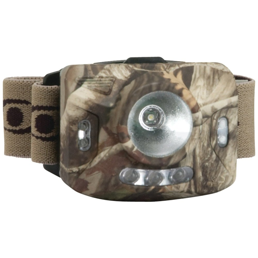 Cyclops Ranger XP 4 Stage Headlamp w/3 Green LED Lights