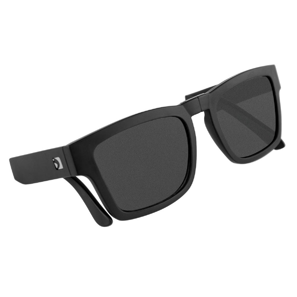Bobster Brix Folding Sunglasses Matte Blk Frame/Smoked Lens