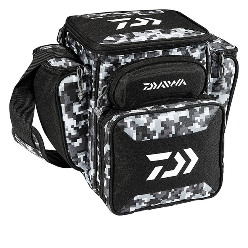 Daiwa D-Vec Tactical Med Soft Sided Tackle Box 9x13x14