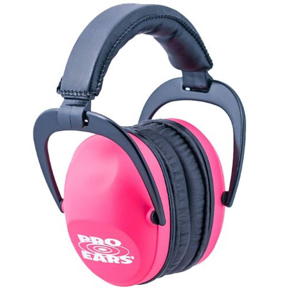 Pro Ears Ultra Sleek Ear Muffs NRR 26 Pink