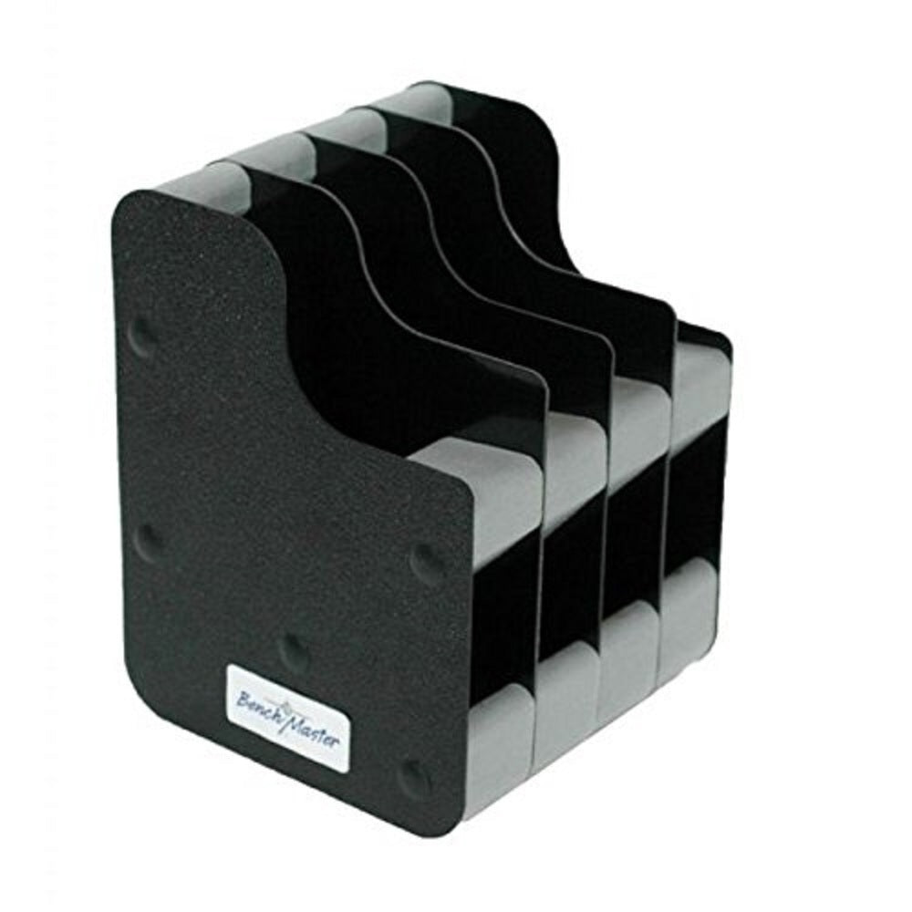 Benchmaster Four Gun Conceal Carry Pistol Rack w/Mag Storage