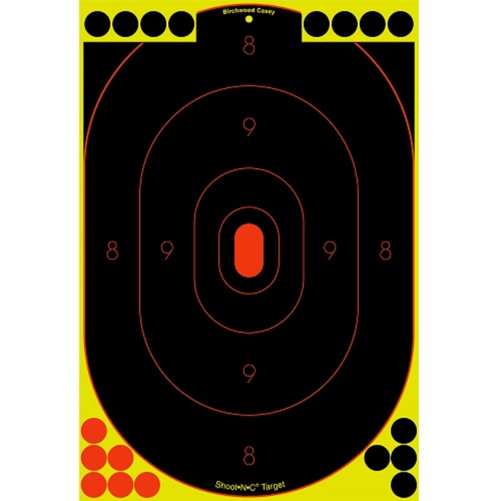 Birchwood Casey Shoot-N-C 12in x 18in Silhouette Target 12pk