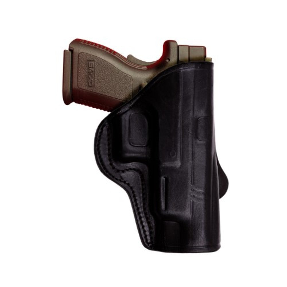 Tagua HK 45 Open Top Paddle Holster Black Right Hand PD3-500