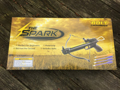 Pistol Mini Crossbow 50LB Spark Model 150 ft/s w/5 Arrows