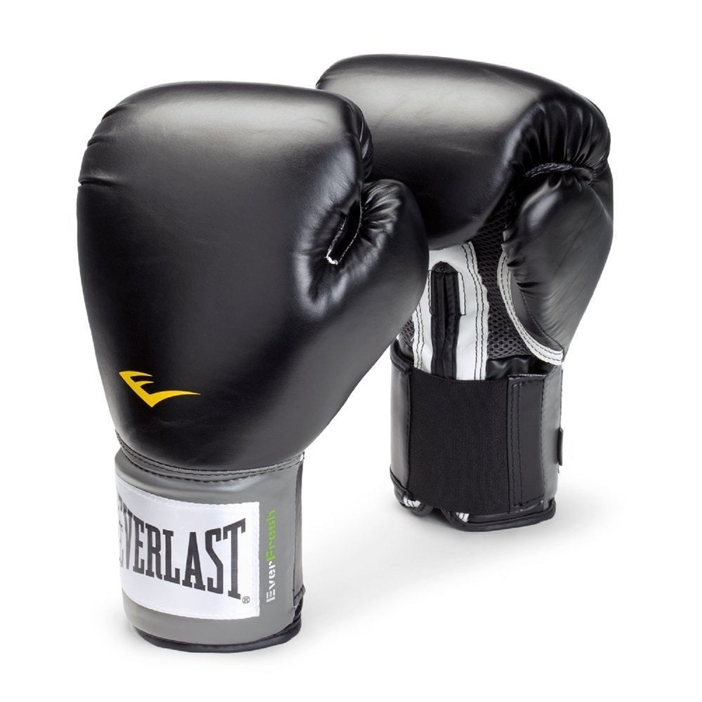 Everlast Womens Pro Style Training Boxing Gloves - Black