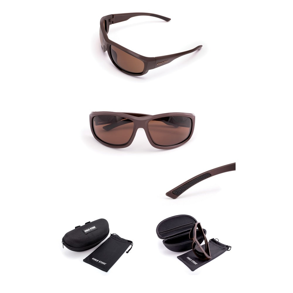 Cold Steel Battle Shades Mark II - Matte Dark Brown