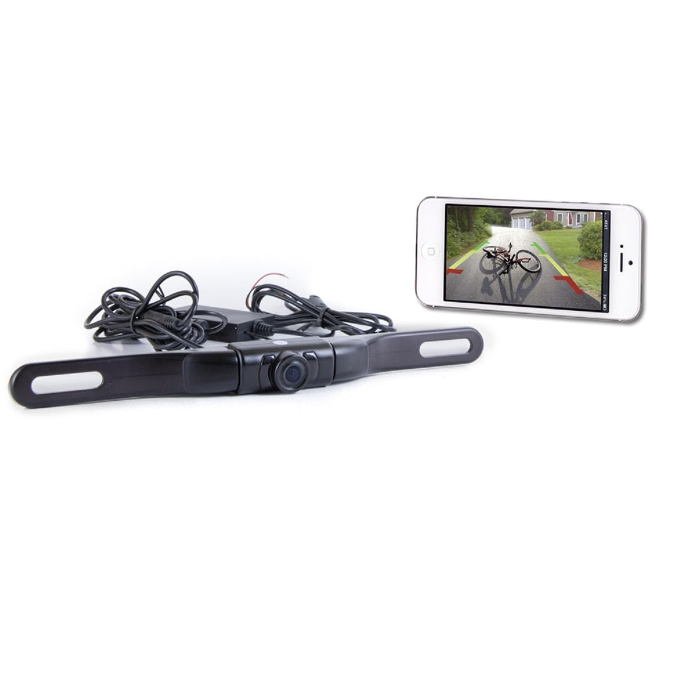 Top Dawg WiFi License Plate Backup Cam-iPhone/Android/Tablet