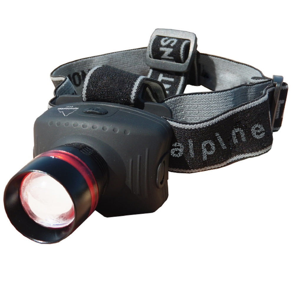 Alpine Mountain Gear 130 Lumen Multi Focus Head Lamp