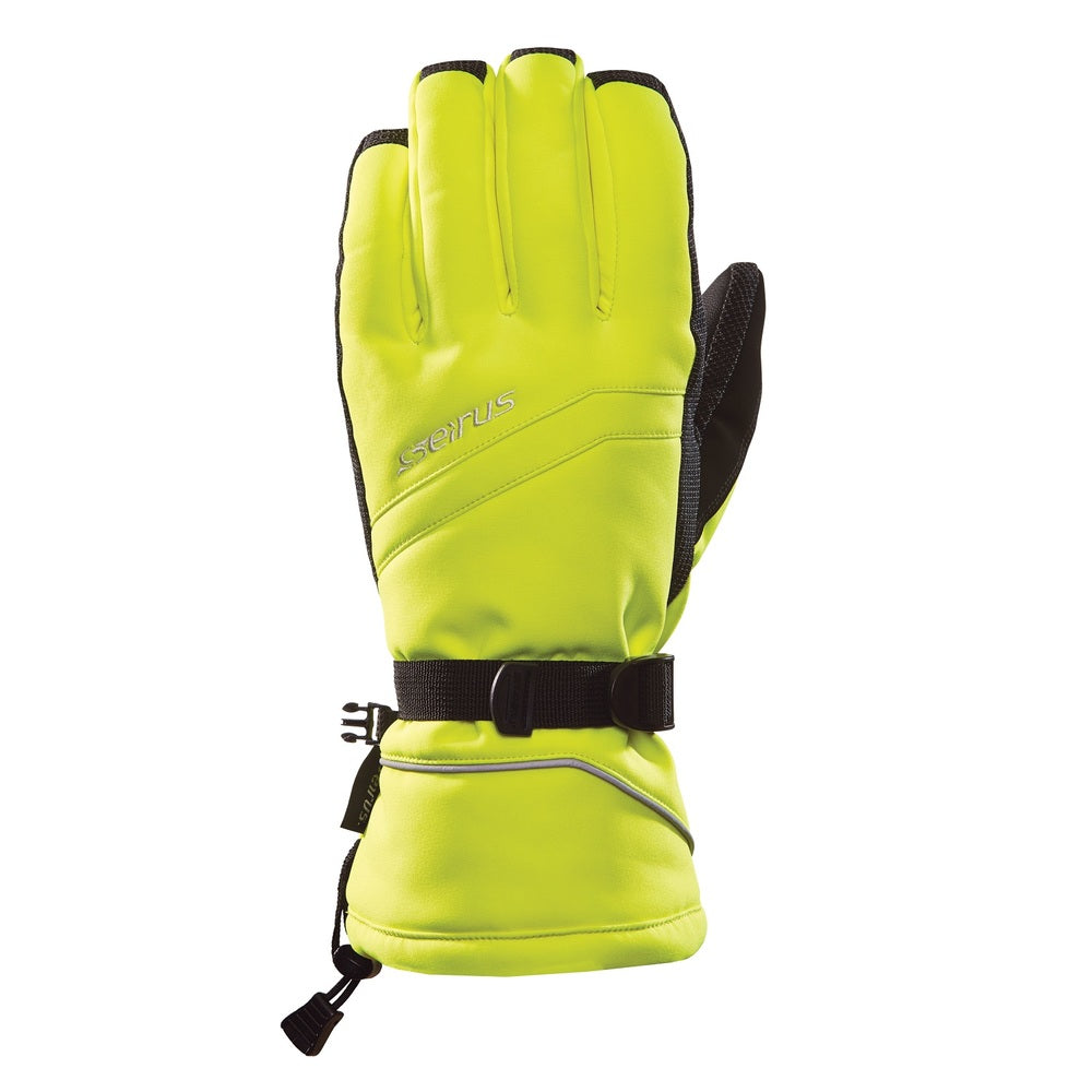 Seirus HWS Yukon Mens Glove-Hi Vis Yellow-Medium