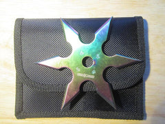 6 Point Ninja Throwing Star- 3.75""