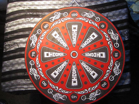 Throwing Star / Throwing Knife Target Board- Choppers