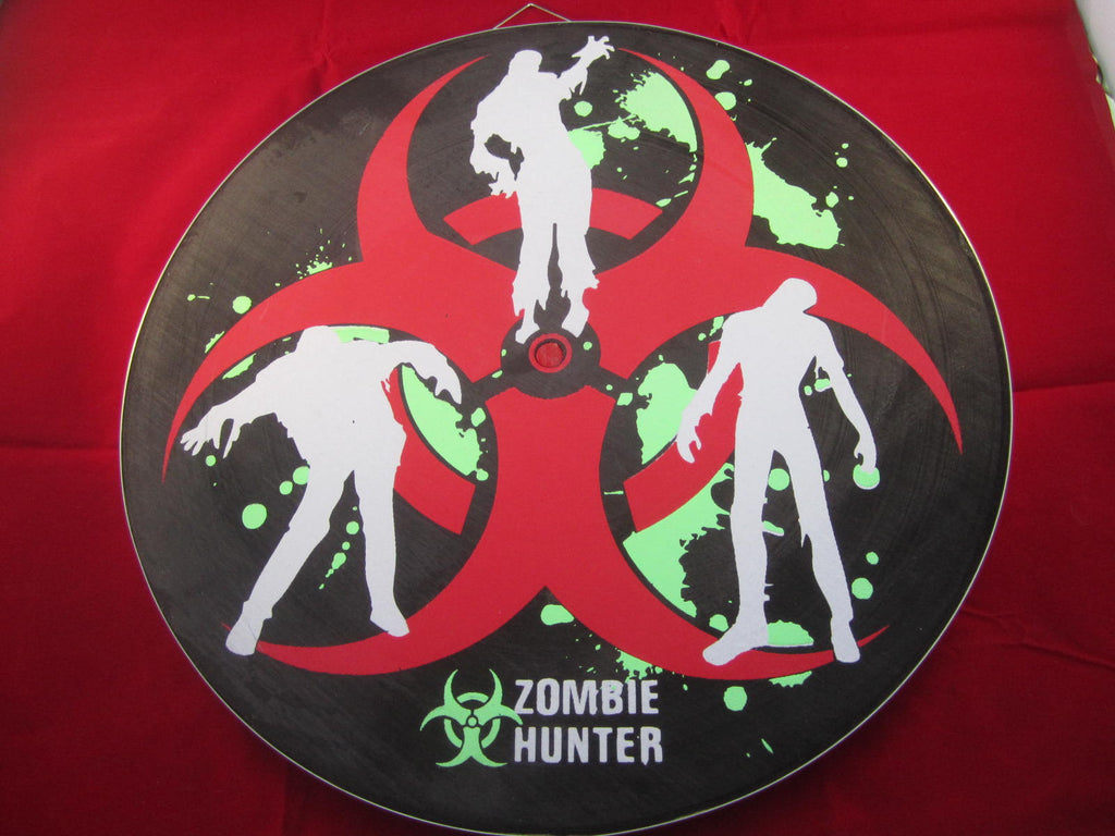 ZOMBIE Heavy Duty Throwing Knife/Star Target / Dart Board