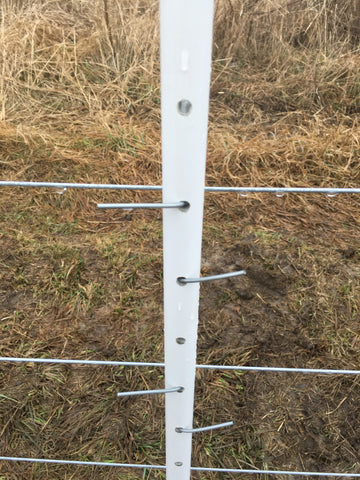 10' Deer Dominator Fence Post