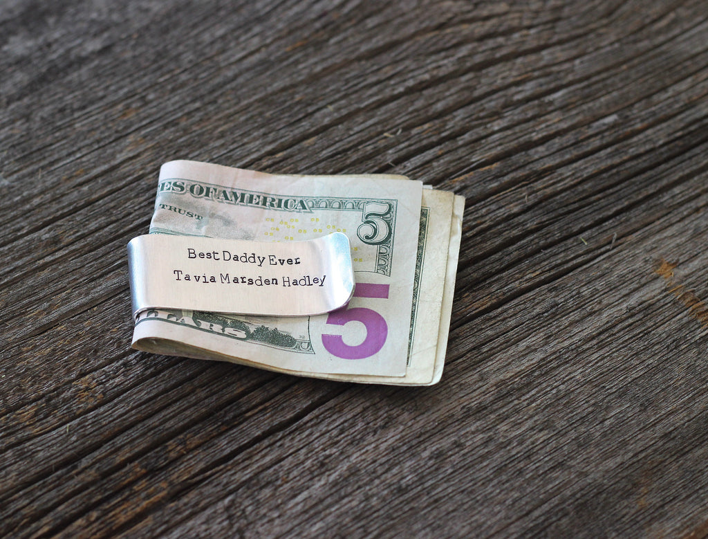 Father's Day Money Clip