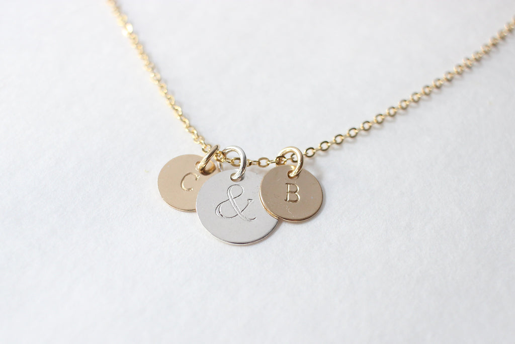 Couples Ampersand Necklace
