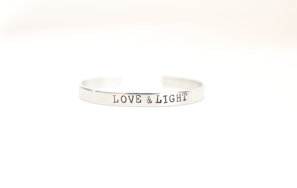 Love & Light Skinny Cuff