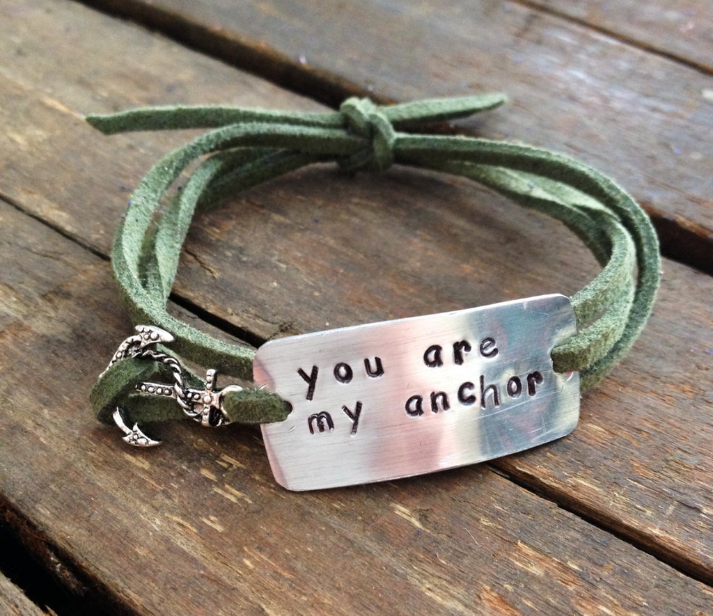 You Are My Anchor, Wrap Bracelet