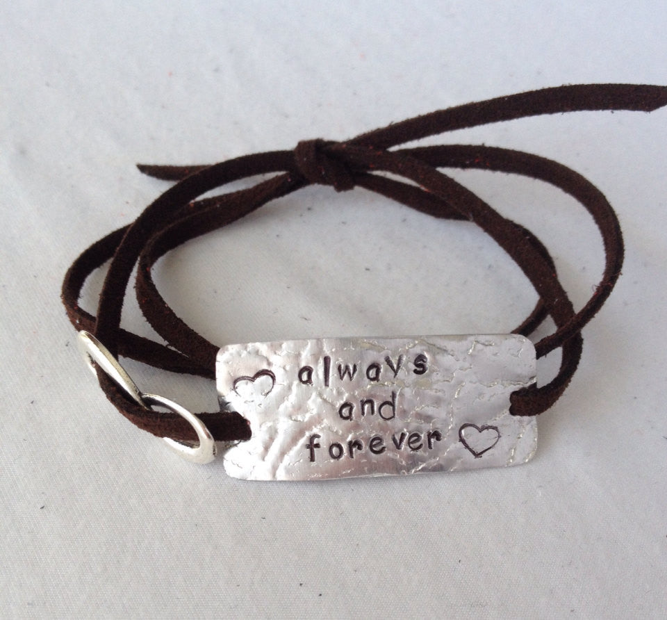 Always And Forever, Wrap Bracelet