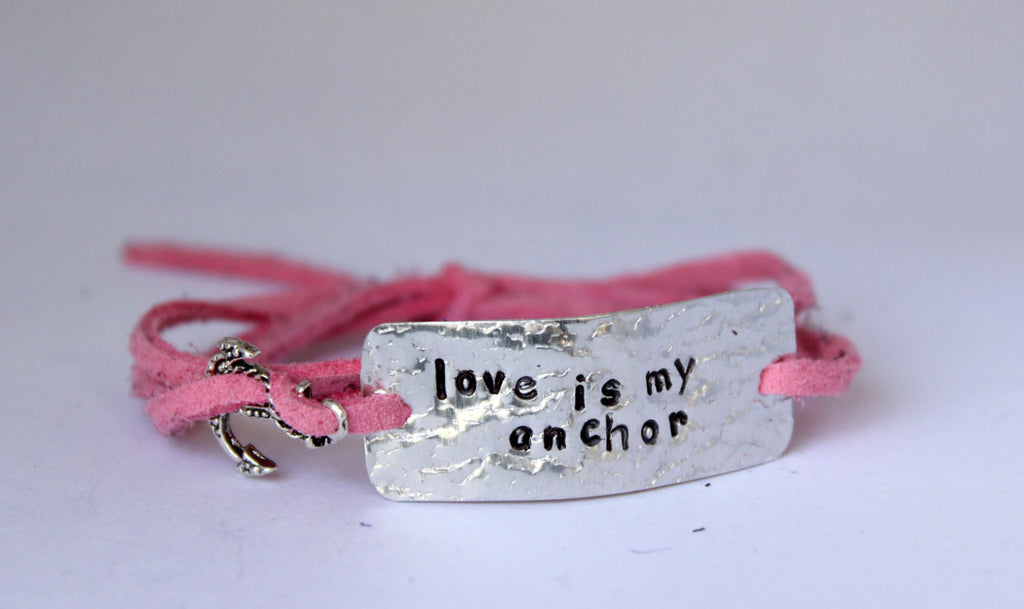 Love is My Anchor, Wrap Bracelet