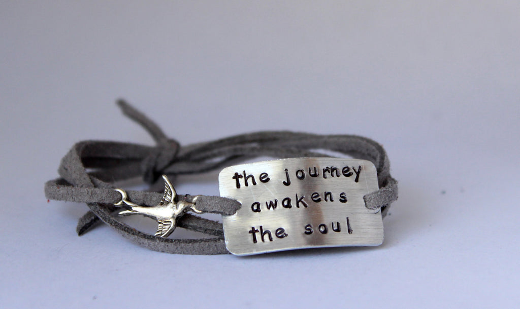 The Journey Awakens The Soul, Wrap Bracelet