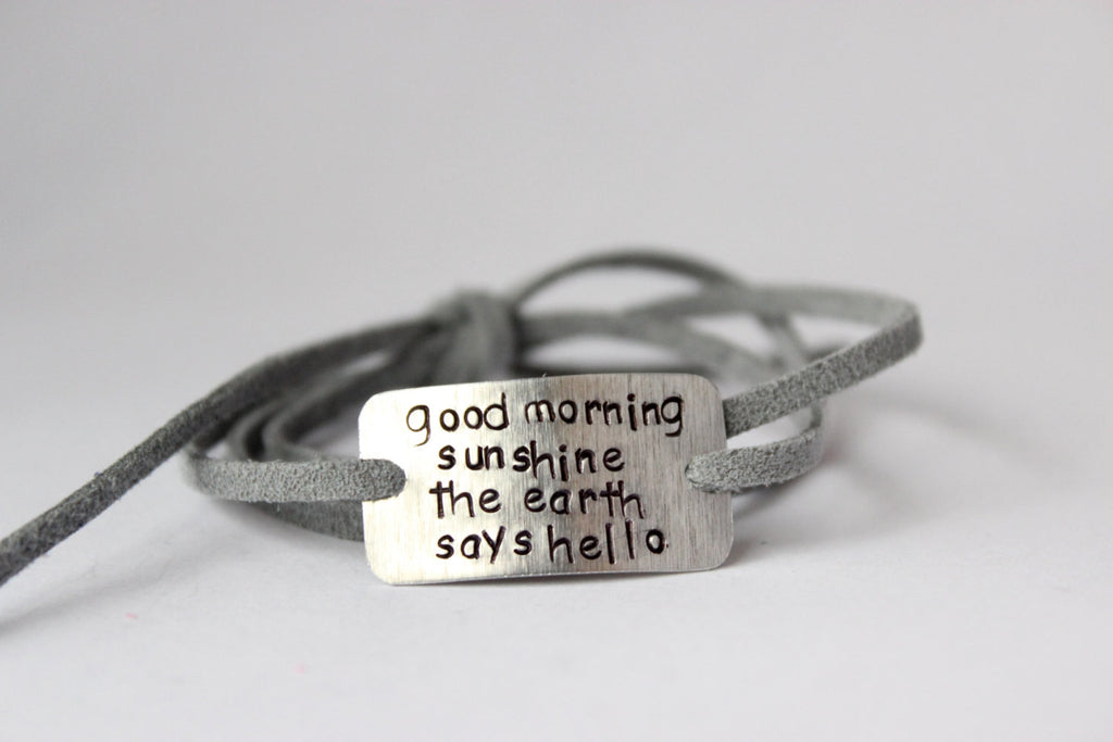Good Morning Sunshine Wrap Bracelet