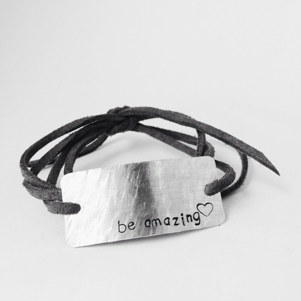 Be Amazing, Wrap Bracelet