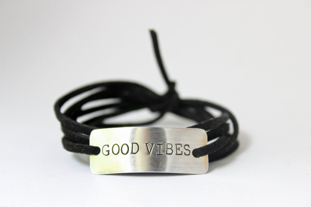 Good Vibes Wrap Bracelet